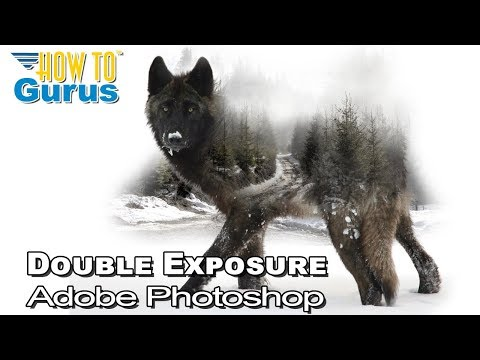 How to Make a Photoshop Double Exposure Effect tutorial - Easy Double Exposure Effect thumbnail