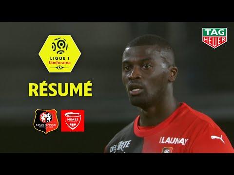 Stade Rennais FC - Nîmes Olympique ( 2-1 ) - Résumé - (SRFC - NIMES) / 2019-20