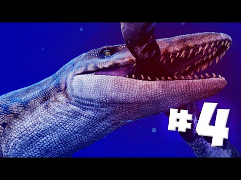 MOSASAUR HUNGRY!! - Time Machine VR | Ep4