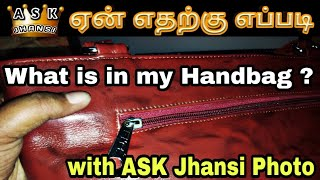 What is in ASK Jhansi Handbag ?