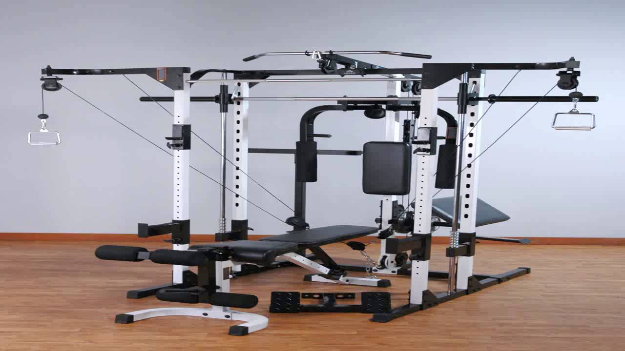 Yukon fitness dip station attachment for power rack