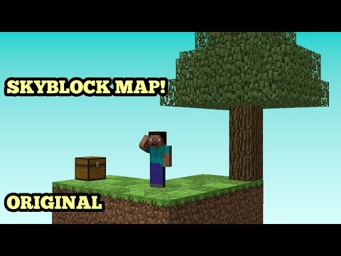 How To Get Skyblock Map For Minecraft YouTube - Minecraft maps skyblock 1 11 2