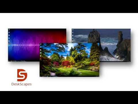 DeskScapes 10 Release Trailer