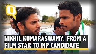 'Is it a Crime for a Politician's son to Enter Politics?: CM Kumaraswamy's Son Nikhil | The Quint