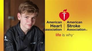 Healthy Recipe : American Heart Assoc -  Chef Logan