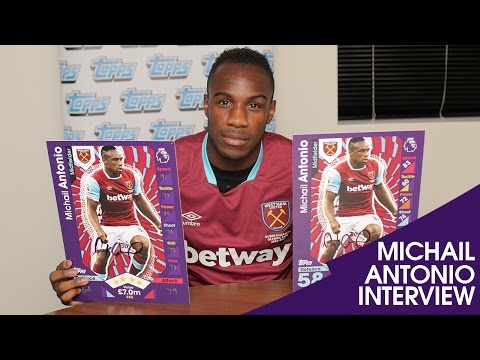 INTERVIEW with MICHAIL ANTONIO! + Competition Winner Revealed!