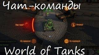 как сделать чат команды для World of Tanks 9.0.2