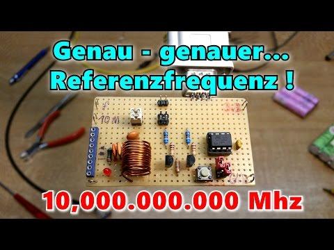 Referenzfrequenzen erzeugen - einfach und genau !   GPS DCF77