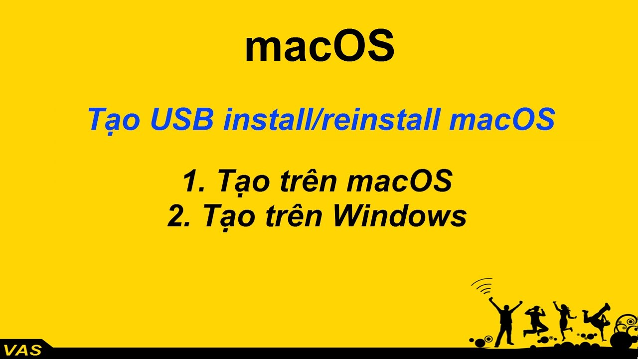[MacBook – macOS] Tạo USB cài macOS cho Macbook trên Macbook (USB Install/Reinstall macOS)