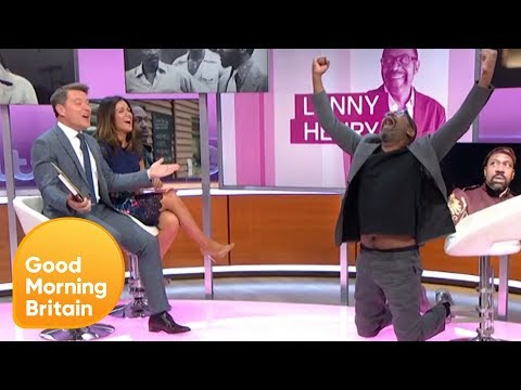 Lenny Henry Confesses His Love for Tipping Point | Good Morning Britain