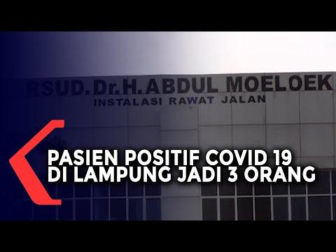 Pasien Positif Covid-19 di Lampung Bertambah Menjadi 3 Orang