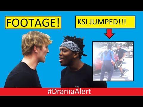 Logan Paul & KSI FIGHT! #DramaAlert (FOOTAGE) KSI JUMPED! FaZe Rug vs Tanner FOX! Ninja Fortnite!