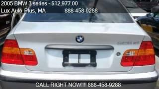 2005 BMW 3 series 325xi 325 XI AWD 5-Speed Manual Trans PREM