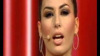 La bocca di e.gregoraci invitante e sensuale