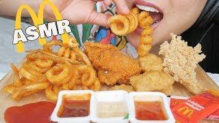 Gambar cover ASMR *BEST McDonalds FRIED Chicken (CRUNCHY EATING SOUNDS) | SAS-ASMR
