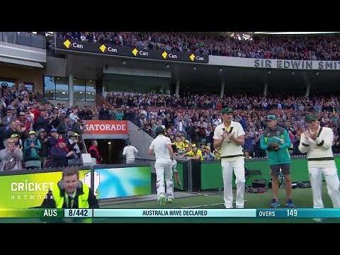 Second Test: Australia v England, day two