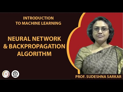 Neural Network and Backpropagation Algorithm