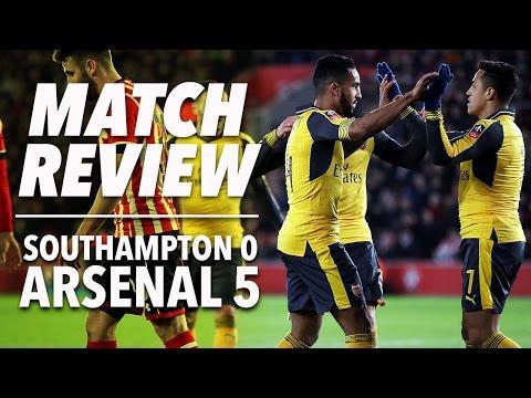 Southampton v Arsenal 0-5 | FA Cup | Match Review