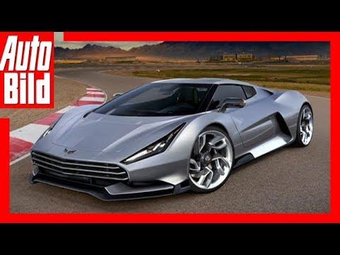 Zukunftsaussicht: Corvette C8 Zora (2018) Details ...