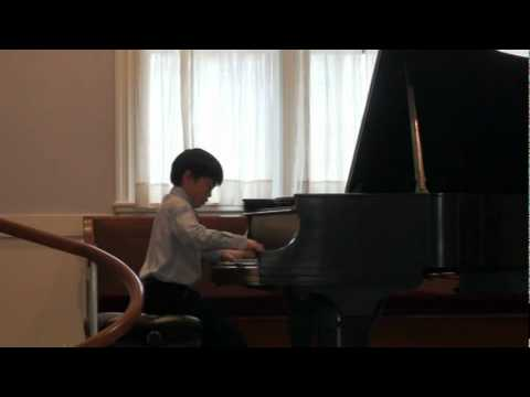Chopin Polonaise in G sharp minor by Andrew Li