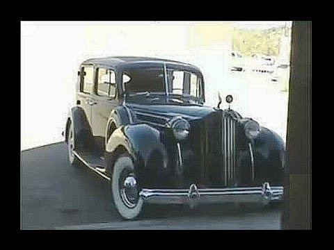 A ride in a 1939 Packard 12 Formal Sedan Antique Automobile Classic Car