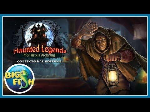 Легенды о призраках 12. Алхимия монстров прохождение #1