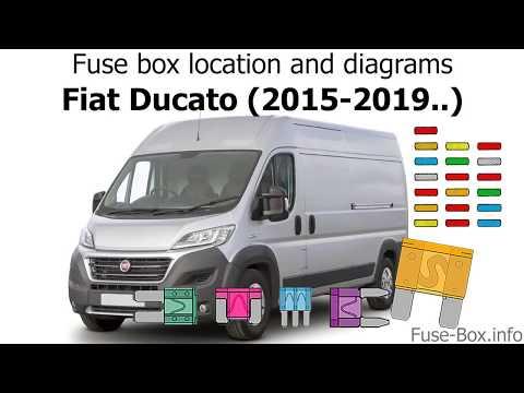 [NRIO_4796]   Fuse box location and diagrams: Fiat Ducato (2015-2019..) - YouTube | Fuse Box On A Fiat Ducato |  | YouTube