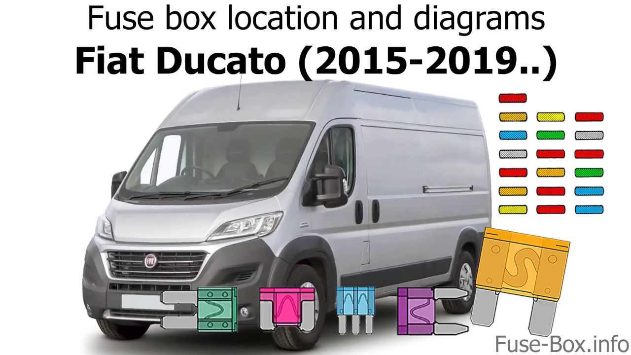 fuse box location and diagrams fiat ducato 2015 2019  [ 1280 x 720 Pixel ]