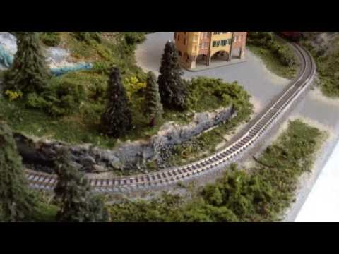 Z Scale Model Train Layout
