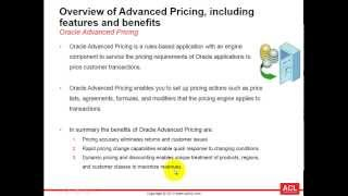 Overview of Oracle Advanced Pricing (on R12.2.3) - Part1