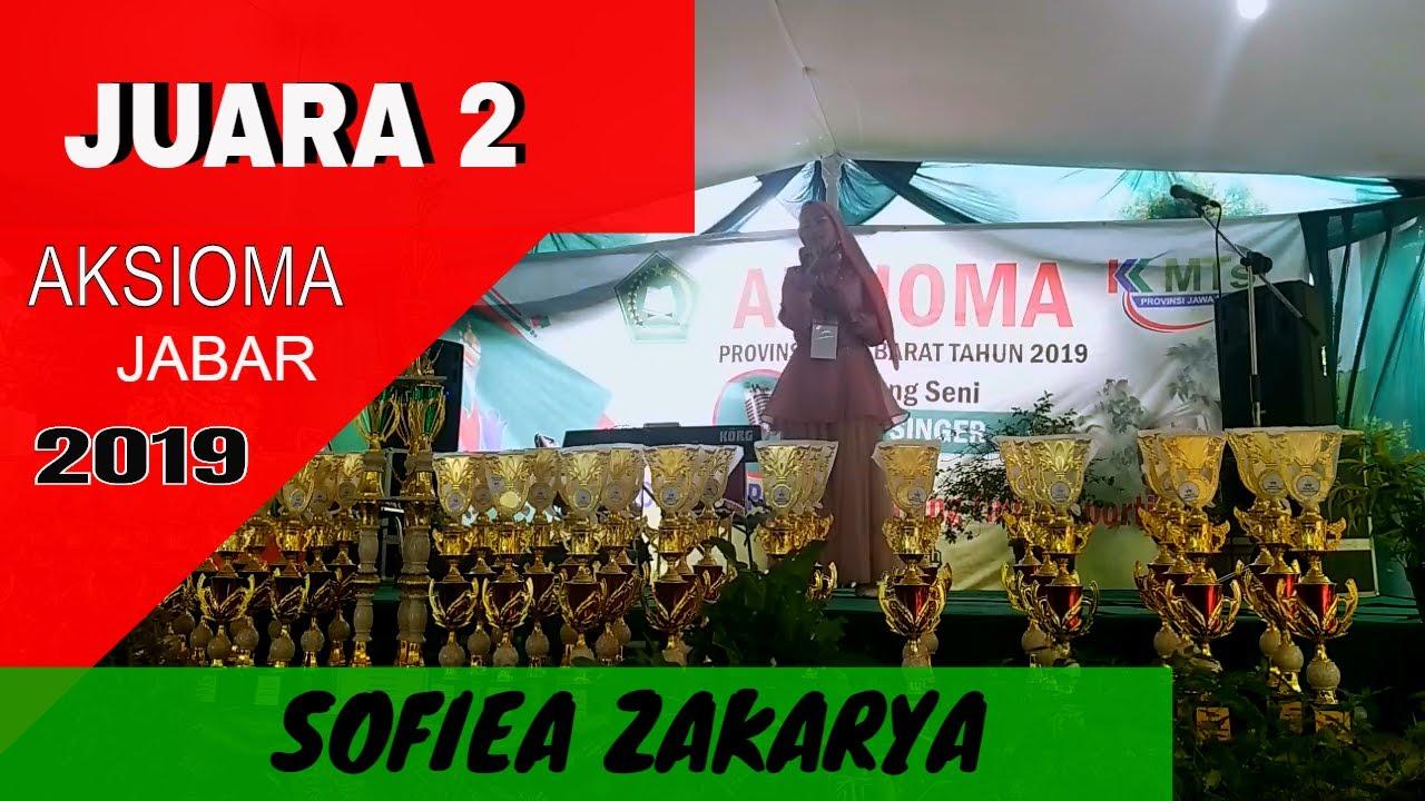 DEEN ASSALAM - SOFIEA ZAKARYA ( Juara 2 Aksioma Jabar 2019)
