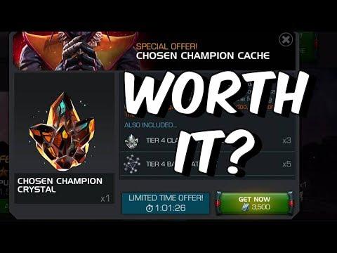 Chosen Champion Cache - Worth Buying? - Marvel Contest Of Champions