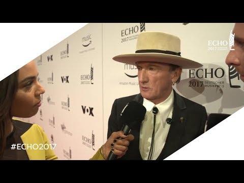 ECHO 2017: Marius Müller-Westernhagen   Red Carpet-Interview