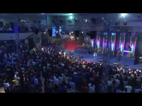 Big Bolaji's Ministration During 73 Hours Of Marathon Messiah's Praise