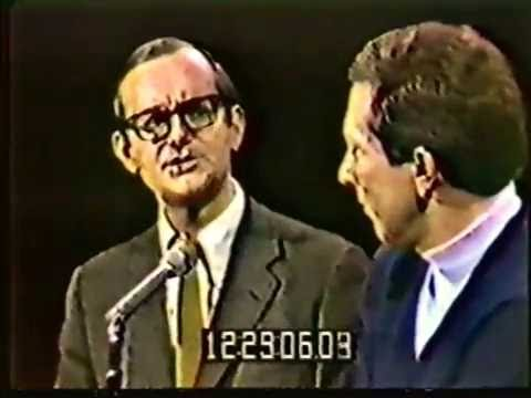 Wally Cox and Andy Williams 5/17/65