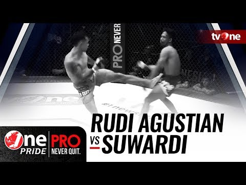 [HD] Rudi Agustian Vs Suwardi - One Pride Pro Never Quit #19 - TITLE FIGHT