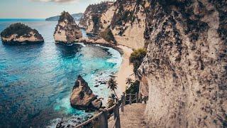 Download lagu 【4K】Walking to Diamond Beach - The Most Beautiful Beach I've Ever Been   BALI Nusa Penida
