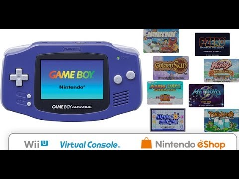 Gameboy Advance Line Up Coming To Wii U