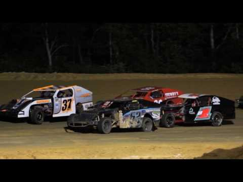 Northwest Florida Speedway 8/13/2016 BAY AREA MODIFIEDS $1,000 TO WIN!