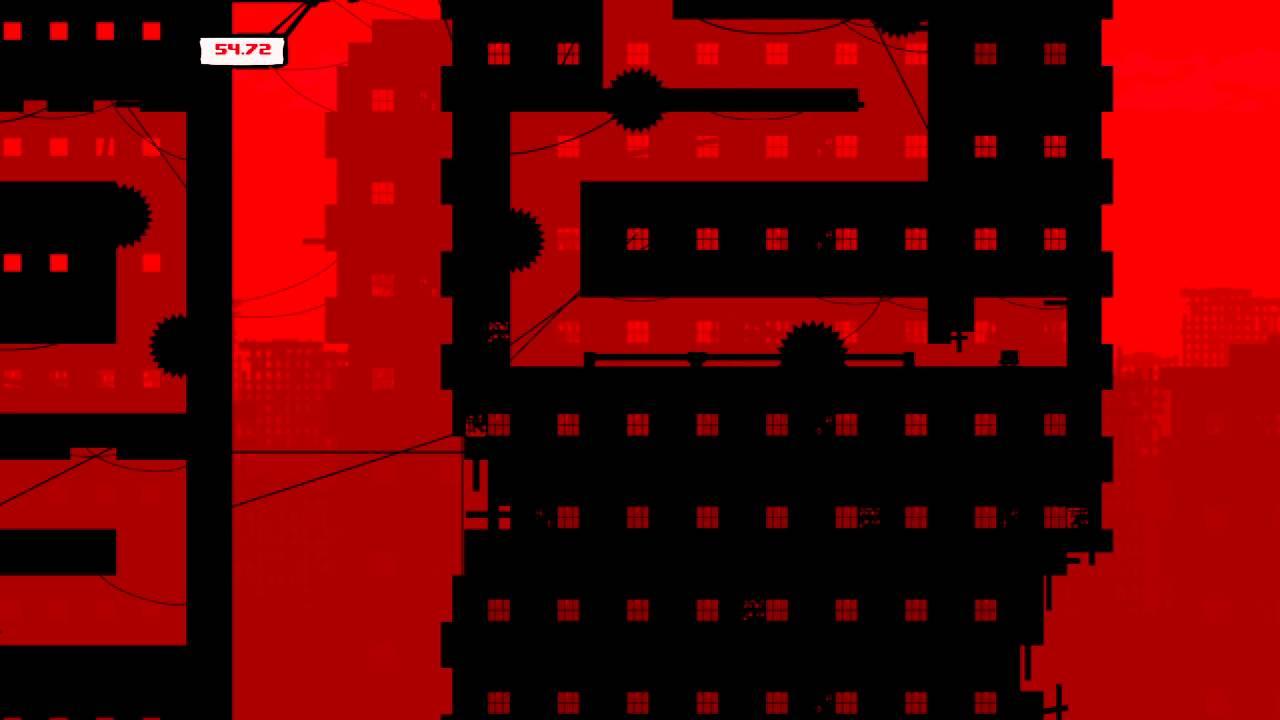 Image result for super meat boy dark world