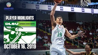 BALTI IS A MACHINE: Justine Baltazar DOMINATES with another double-double for DLSU | UAAP 82 MB