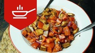 Domates Salatası Nasıl Yapılır | Kızım Leyla ile Mutfaktayız | Yemek Tarifleri