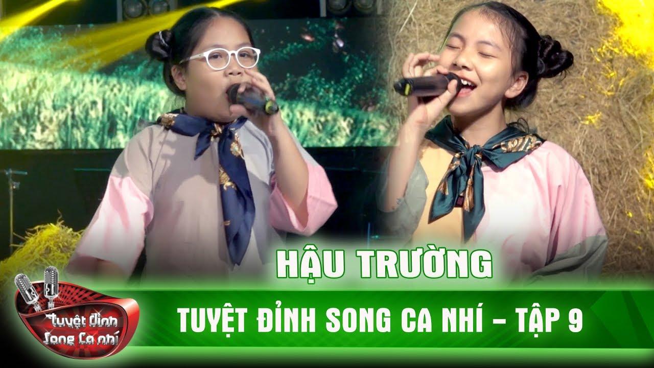 'Về ăn cơm' rất dễ thương của cặp song ca nhí Hoàng Yến, Lam Khuê