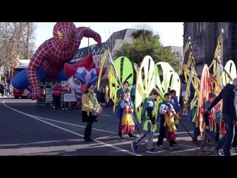 St. Patrick's Parade in Castlebar, 2016