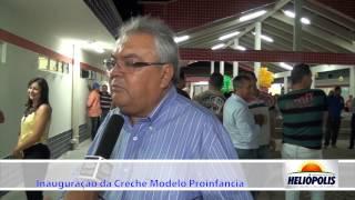 Entrevista Deputado Wando na inauguração da Creche em Heliópolis-Ba.