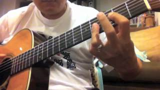 Blue Eyes Blue (Eric Clapton) - Martin 000-28EC