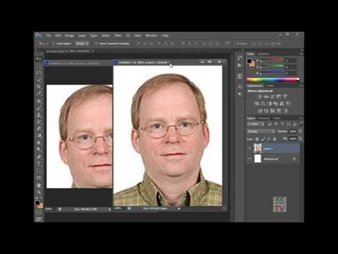 How To Make UK Visa Photo In Photoshop CS6-Photoshop Tutorial
