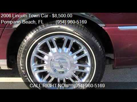 2006 Lincoln Town Car Designer Series For Sale In Pompano Be Youtube
