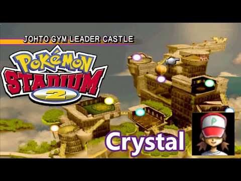Pokémon Stadium 2 Johto Gym Leader Castle Complete Самые лучшие видео