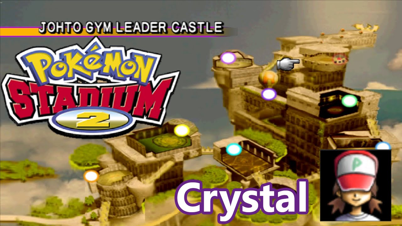 Pokémon Stadium 2 - Johto Gym Leader Castle Complete